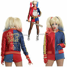 DC Comics Suicide Squad Harley Quinn Puddin Bomber Jacket Hot Topic EXCLUSIVE