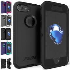 Shockproof Protective Hybrid Defender Rugged Cover Case For iPhone 8 iPhone 7
