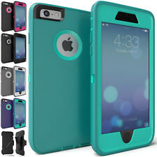 For iPhone 6s 6 Case Protective Armor Hybrid Rugged Defender Shockproof Cover