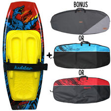 NEW 2018 KIDDER LIVEWIRE WATER SKI KNEEBOARD W/ BONUS CARRY BAG + TOW HOOK