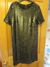 NEXT Black Sequin Dress - NEW with Tags (RRP £50) - Size 10, 12 or 14