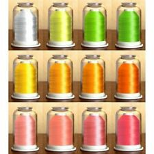Hemingworth Embroidery Thread-METALLIC-NEON-VARIEGATED-Convenient Color Families