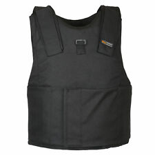 Light Weight Concealed Body Armor Bullet Proof Black Vest NIJ level IIIA 3A