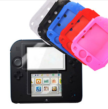 5colors Soft Silicone Protection Gel Pouch Case Cover for Nintendo 2DS Console