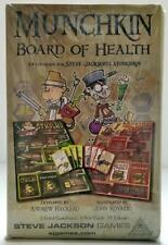 MUNCHKIN BOARD OF HEALTH Accessories for CTHULHU & ZOMBIES Steve Jackson Games