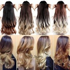 100% Real as Ombre human Hair Clip in Full Head Hair Extensions Extentions L84