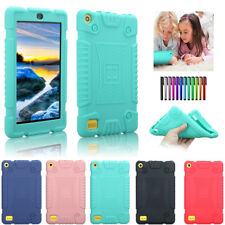 Kids Safe Soft Case Cover For Amazon Kindle Fire 7 HD 8 7th Gen 2016 2017 Tablet