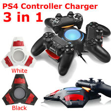 PS4 Controller Charger Station Stand Dual Shock 3 Controllers USB Charging Dock