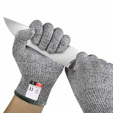 5 HPPE Gloves Working Protective Cut-Resistant Anti Abrasion Safety Army-Grade