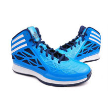 Adidas Crazy Fast 2 Lace Up Blue Mens Hi-Top Basketball Trainers Shoes UK7