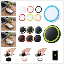 Portable Qi Wireless Fast Charger Charging Stand Dock Pad For iPhone Samsung