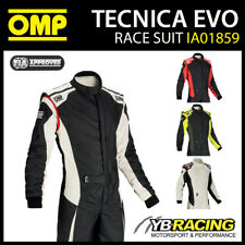 NEW! IA01859 OMP TECNICA EVO RACE SUIT FIREPROOF FIA APPROVED FOR MOTORSPORT