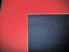 Red Pre-Cut 11x14 or 16x20  Mat Matting Mattes for Picture Framing of Photos Art