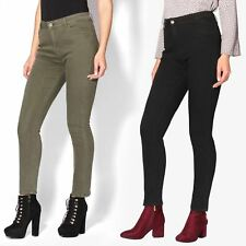Womens Distressed Ripped Skinny Jeans Ladies Bling Stud Stretch Fit Denim Pants