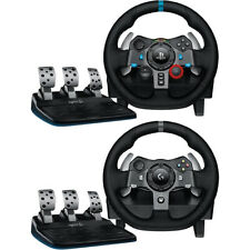Logitech Driving Force Race Wheel + Shifter for Playstation 4, Xbox One, and PC