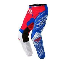 Oneal 2018 Element Burnout Motocross Pants Men's - Red - White - Blue E