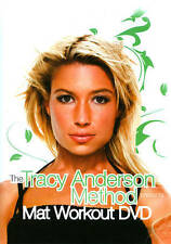 The Tracy Anderson Method: Mat Workout (DVD, 2012)  New/Sealed