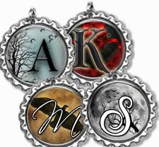 Custom Your Initial Bottle Cap Necklace w/Chain Handcrafted Personalized Gift