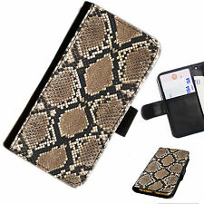 SKIN 17 SNAKE SKIN PRINTED LEATHER WALLET/FLIP CASE COVER FOR MOBILE PHONE