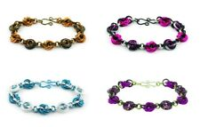 INSPIRAL BRACELET KIT-Chain Maille/Mail Jump Ring Jewelry Craft-Color-Glass