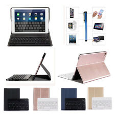 Smart Wireless Bluetooth Keyboard With Shockproof Stand Flip Case Cover For iPad