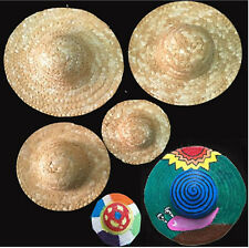 Women Children Kids School Easter Hat Parade Show Craft art DIY Straw Sun Hat