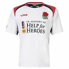 Help for Heroes Mens England Rugby Shirt Short Sleeve Breathable