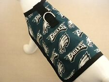 Dog Harness Clothes Coat Made From NFL Philadelphia Eagles Fabric