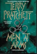 Discworld: Men at Arms by Terry Pratchett (1996, Hardcover in Jacket 1st print )
