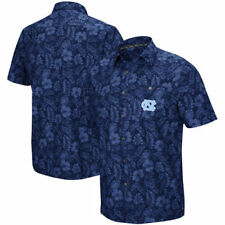 North Carolina Tar Heels Colosseum Ground Rules Camp Button-Up Shirt - Carolina