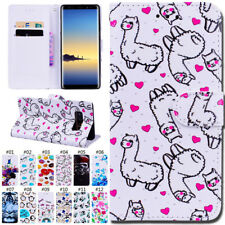 Protective TPU PU Leather Stand Cover Case Wallet Skin For Samsung Galaxy Note 8