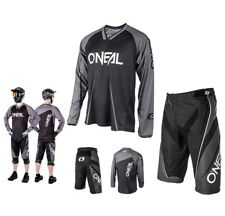 Oneal MTB Downhill Element Freeride Mountain Bike Black DH COMBO Shirt Shorts