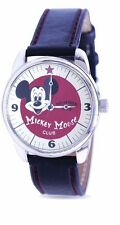 Disney Mickey Mouse Club Watch Special Packaging Leather Strap with Certificate