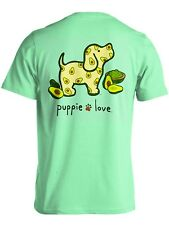 Puppie Love Rescue Dog Adult Unisex Short Sleeve Cotton T-Shirt, Shopping Pup