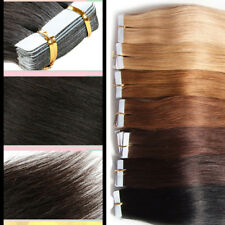 2.5g/pcs Tape In 100% Human Remy Hair Extension Seamless Straight Skin Weft Hair