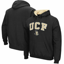 UCF Knights Stadium Athletic Arch & Logo Tackle Twill Pullover Hoodie - Black