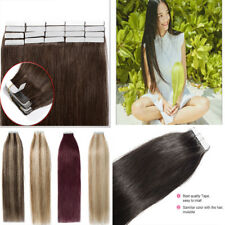 2.5g/pc Remy Tape In Human Hair Extension Full Cuticle Seamless Skin Weft Hair