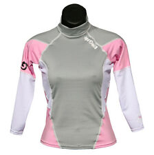 RASH GUARD Long Sleeve Lycra Shirt Scuba Surf Diving Snorkeling Swimming Women