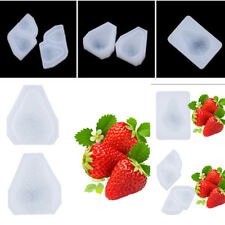 Silicone 3D Strawberry Fondant Mold DIY Cake Candy Chocolate Baking Mould Tools