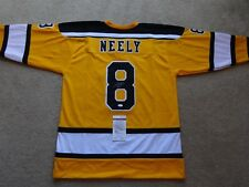 CAM NEELY SIGNED AUTO BOSTON BRUINS YELLOW JERSEY JSA AUTOGRAPHED