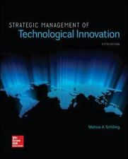 Strategic Management of Technological Innovation by Melissa A. Schilling PDF 5th