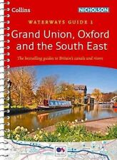 Nicholson Waterways Guide 1 Grand Union Oxford & South East by Collins Maps 2016