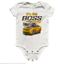Ford Mustang Boss 302 I'm the Boss Infant Creeper 6 Months -BDFMSTY155