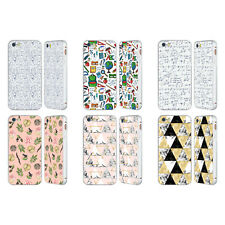 JULIA BADEEVA ASSORTED PATTERNS 3 SILVER SLIDER CASE FOR APPLE iPHONE PHONES