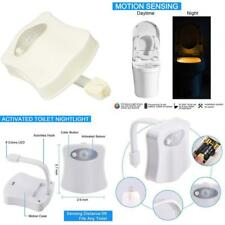 Toilet Night Light Bowl Led Sensor Motion Activated For Home Bathroom Toilet Kit