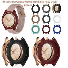 Rubber Skin Protector Case Cover Shell for Samsung Galaxy Watch 42mm SM-R810/R81