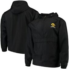 Iowa Hawkeyes Champion Packable Jacket - Black