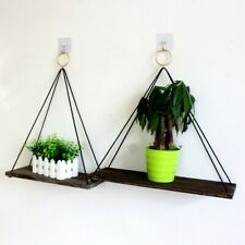 Wall Shelf Wooden Floating Shelving Home Decorative Storage Wall Mounted Rack,
