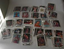 (254)  Vintage 1990 WF Trading Collector's Cards