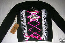 """Lucky 13 """"Whip It"""" Cardigan, NWT"""